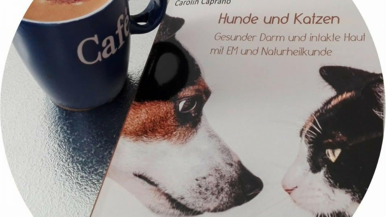 Gesunder Darm und intakte Haut mit EM Lösungen und Naturheilkunde bei Hunde und Katzen