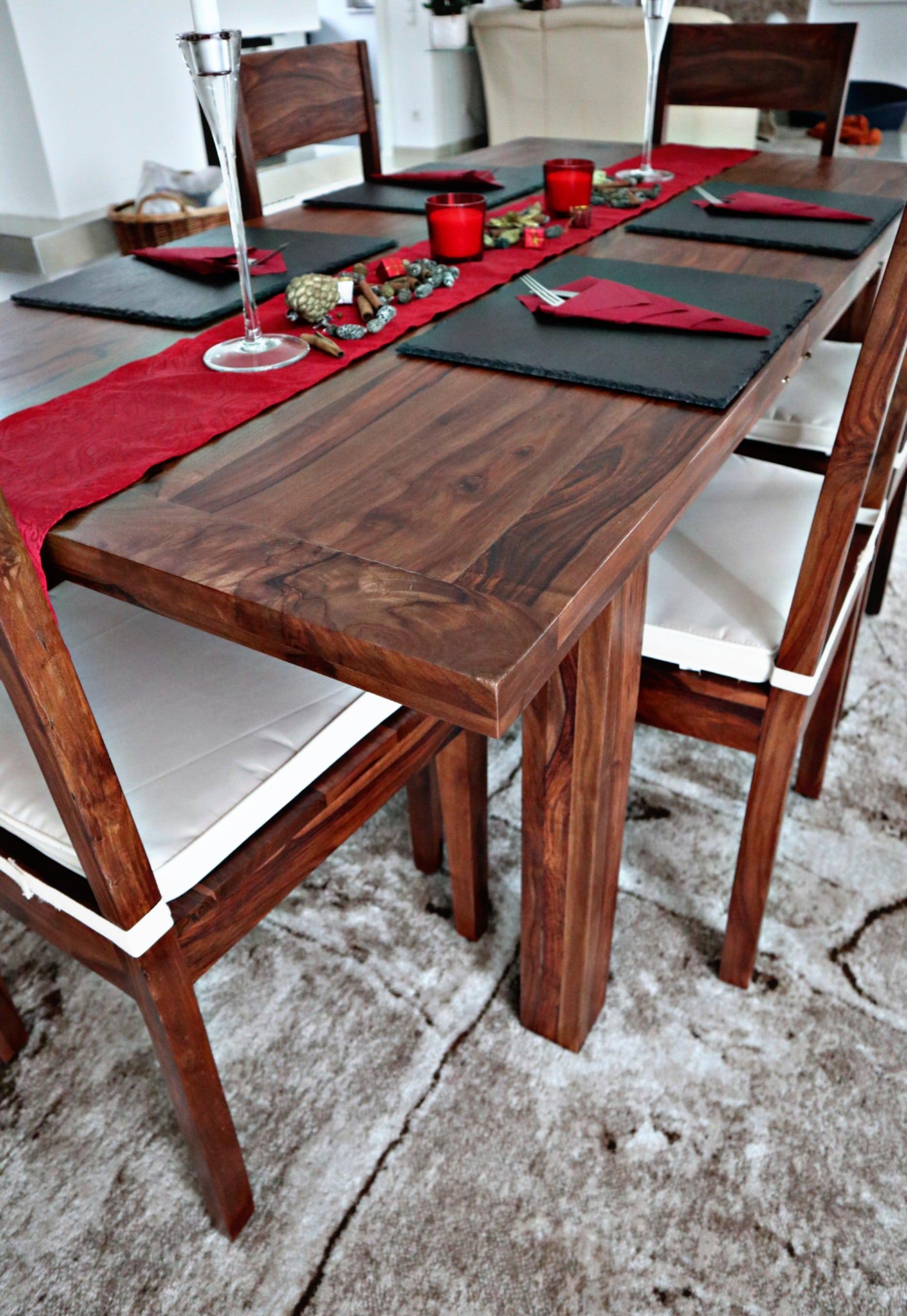 Tischdekoration Zu Weihnachten Unsere Neue Essgarnitur Von