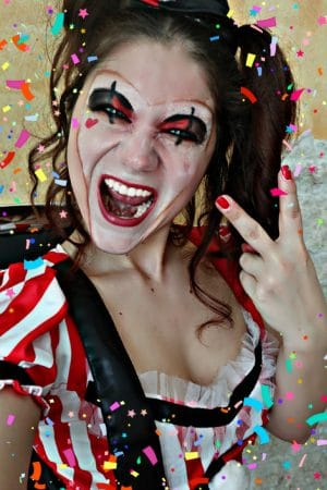 Mein CLOWN Harlekina Style inkl. Make-up Tutorial