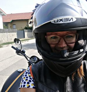Motorrad fahren