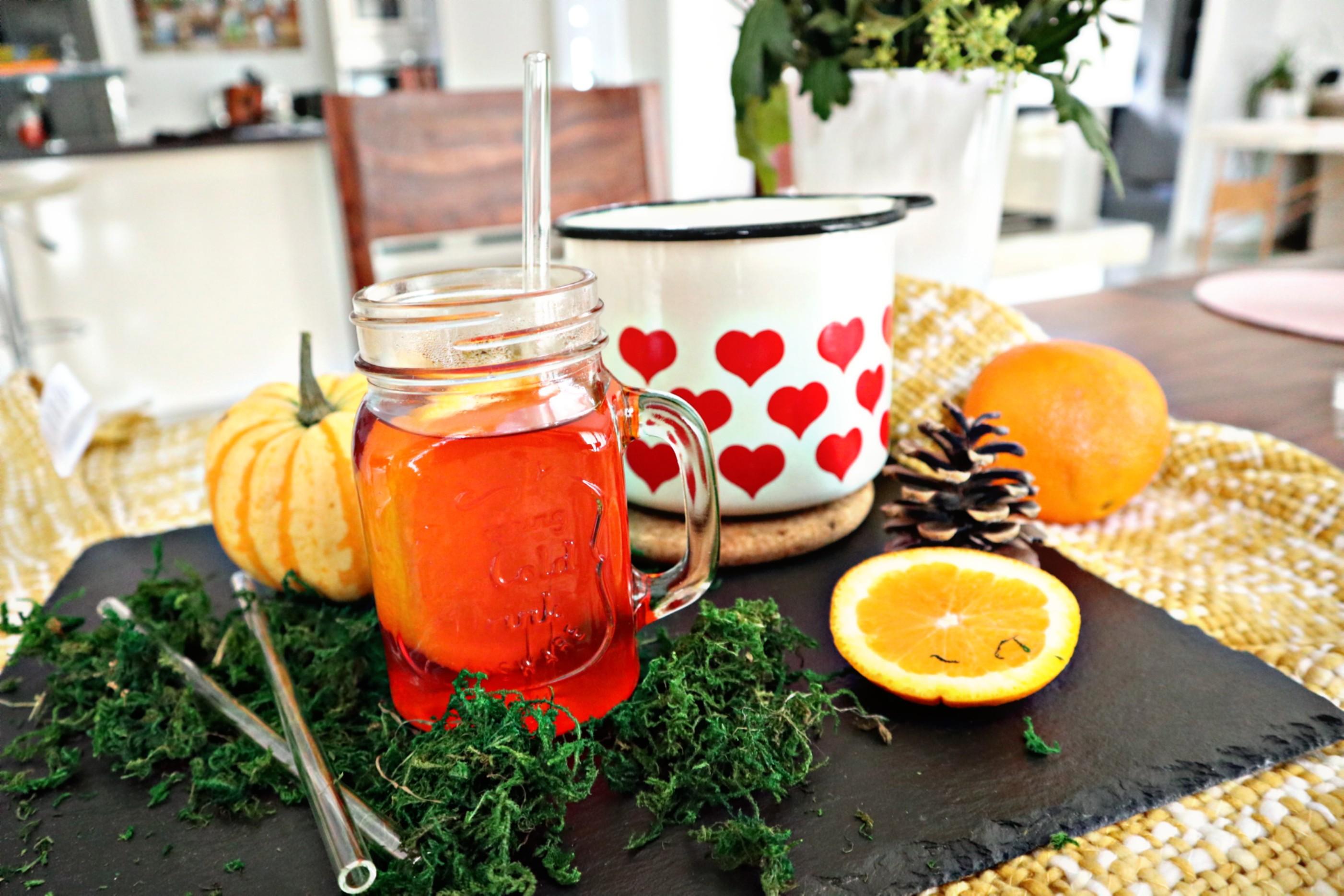 Hot Aperol für die kalten Herbsttage