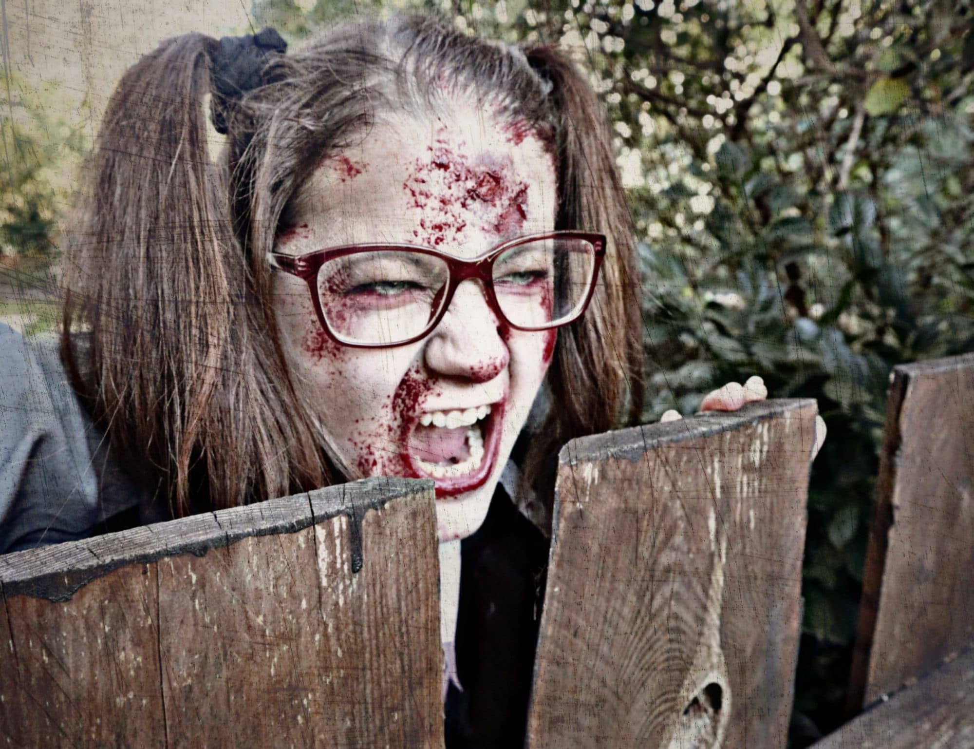Mein ZOMBIE Style inkl. Make-up Tutorial